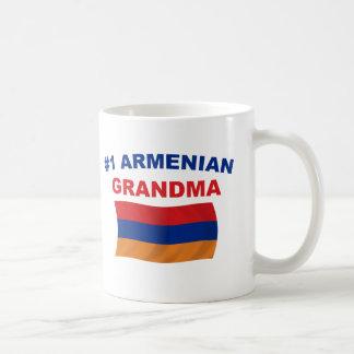 #1 Armenian Grandma Classic White Coffee Mug