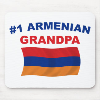 #1 Armenian Grandpa Mouse Pad