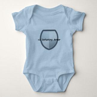 +1 Armor Baby Baby Bodysuit