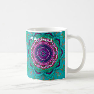 #1 Art Teacher Mug
