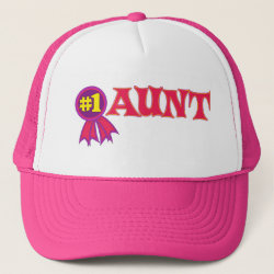 #1 Aunt Award Trucker Hat