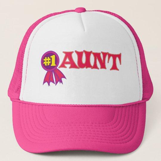 #1 Aunt Trucker Hat