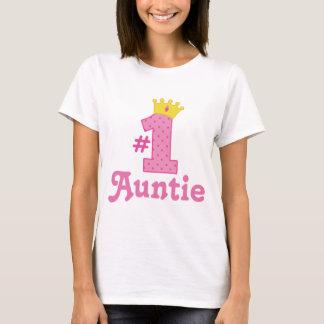 #1 Auntie Gift T-Shirt