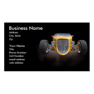 1 Bad Roadster Business Cards