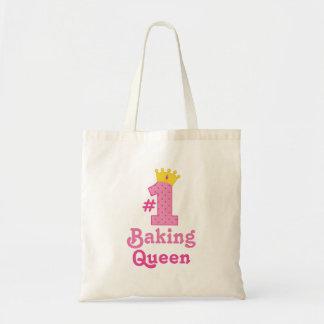 #1 Baking Queen Tote Bags