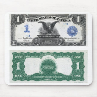 $1 Banknote Silver Certificate 1889 Mouse Pad
