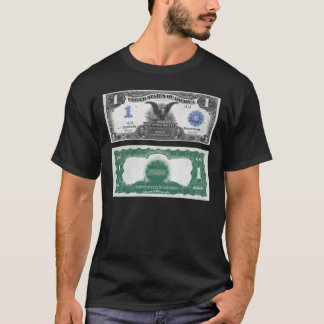 $1 Banknote Silver Certificate 1889 T-Shirt