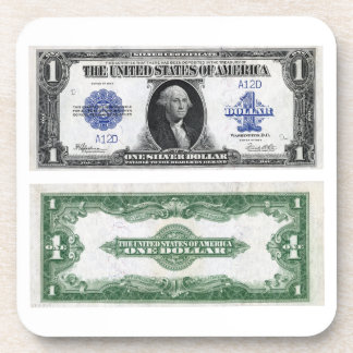 $1 Banknote Silver Certificate 1923 Coaster