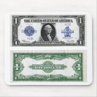 $1 Banknote Silver Certificate 1923 Mouse Pad