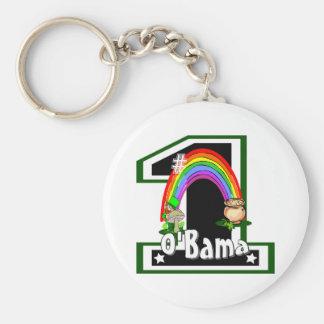 #1 Barack Obama Keychain