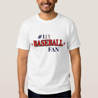 #1 BASEBALL FAN T-Shirt
