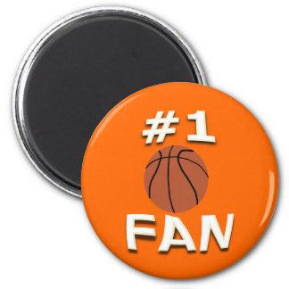 #1 Basketball Fan Magnet