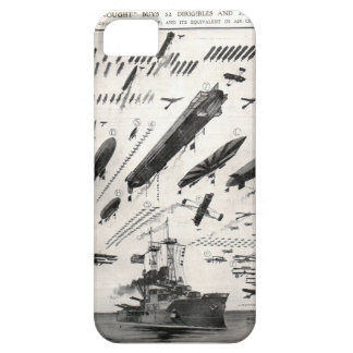 1 Battleship as compared to Aircraft iPhone SE/5/5s Case
