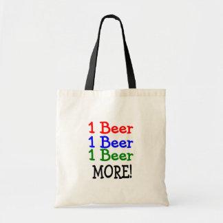 1 Beer 2 Beer 3 Beer More Canvas Bags