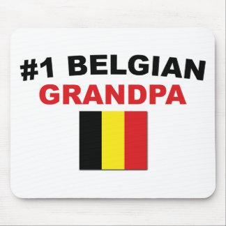 #1 Belgian Grandpa Mouse Pad