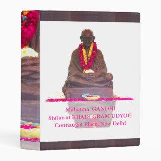 "1"" Binder India father of nation Mahatma Gandhi"