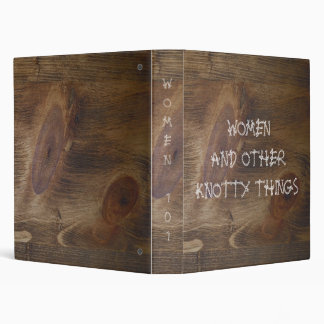 "1"" Binders Full of Women & Knotty Things"