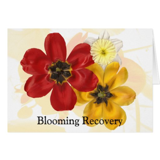 1 Blooming Recovery Card