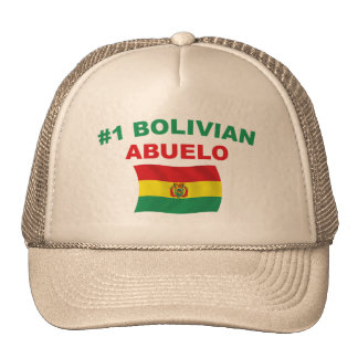 #1 Bolivian Abuelo Trucker Hats