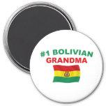 #1 Bolivian Grandma Magnet