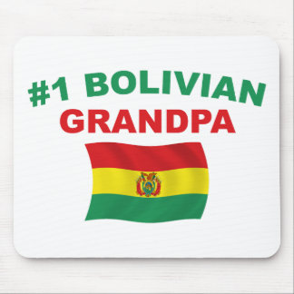 #1 Bolivian Grandpa Mouse Pad