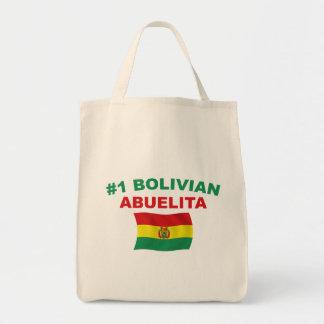#1 boliviano Abuelita Bolsa Tela Para La Compra