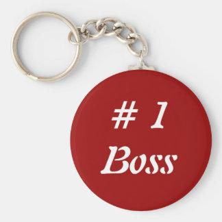#1 Boss Llavero Redondo Tipo Pin