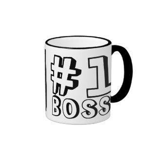 #1 BOSS RINGER MUG