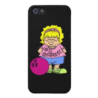 #1 Bowler Bowling Girl Cartoon iPhone SE/5/5s Case