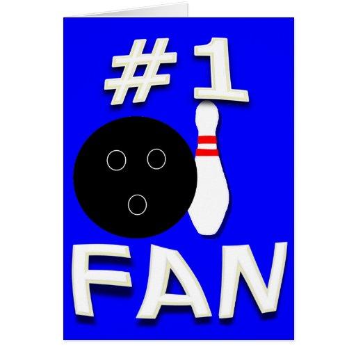 #1 Bowling Fan Card