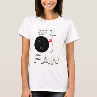 #1 Bowling Fan T-Shirt