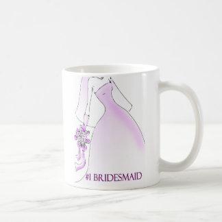 #1 Bridesmaid Mug