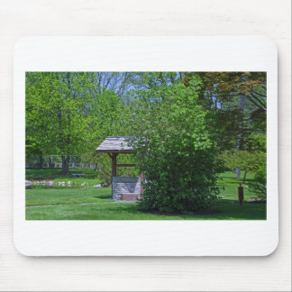 1 By the Wishing Well-horizontal.JPG Mouse Pad