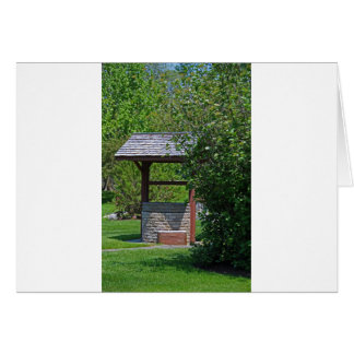 1 By the Wishing Well-vertical.JPG Card