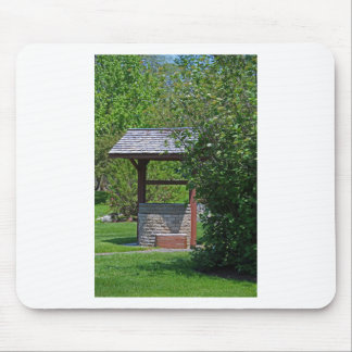 1 By the Wishing Well-vertical.JPG Mouse Pad