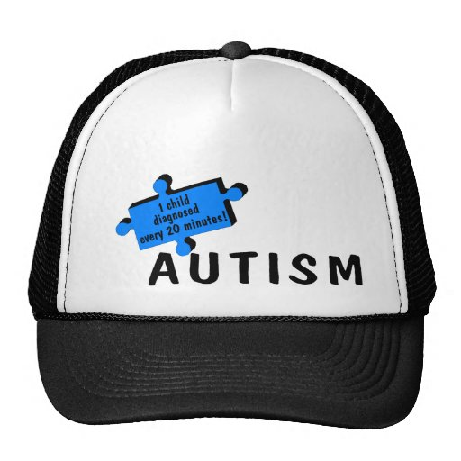 1 cada 20 minutos (pedazo azul) gorras de camionero