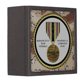 1 CAMPAIGN STAR PERSIAN GULF WAR VETERAN PREMIUM GIFT BOXES