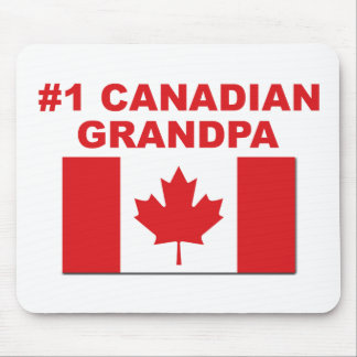 #1 Canadian Grandpa Mouse Pad