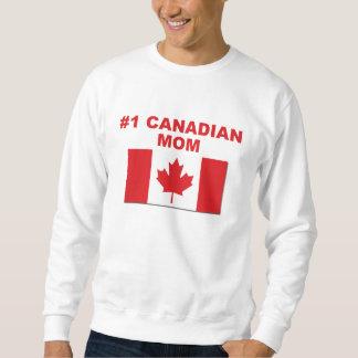 #1 Canadian Mom Sweatshirt