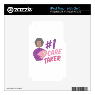 #1 Care Taker Decals For iPod Touch 4G