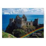 1. Castillo impresionante de Dunluce, Irlanda del Tarjeta De Felicitación