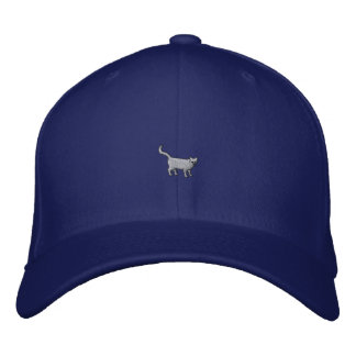 """1"""" Cat Embroidered Baseball Hat"""