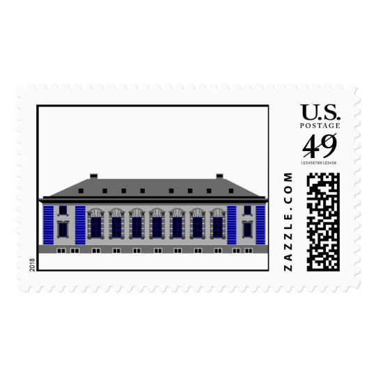 1 Cathedral Square - grey Postage