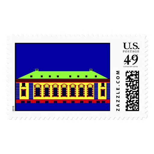 1 Cathedral Square Stamps