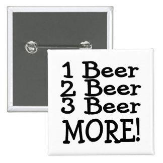 1 cerveza de la cerveza 3 de la cerveza 2 más (neg pins