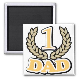 #1 CHAMPION Dad magnet