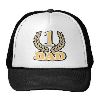 #1 CHAMPION Dad Trucker Hat