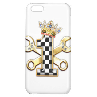 1 checkered flag number iPhone 5C cover