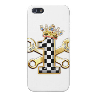 1 checkered flag number iPhone SE/5/5s case