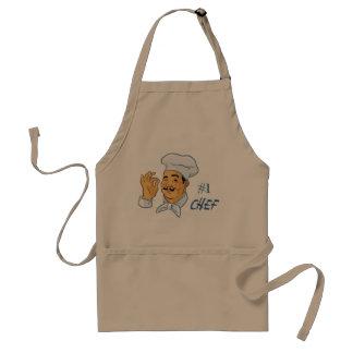 #1 Chef Adult Apron